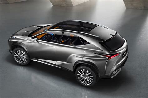 lexus crossover 2013 lexus lf nx crossover concept is one mean looking hybrid