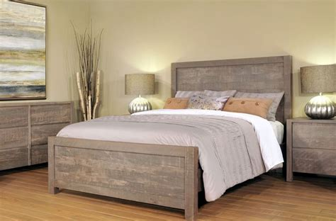 Rustic Gray Bedroom Sets by Rustic Grey Bedroom Set Countryside Amish Furniture