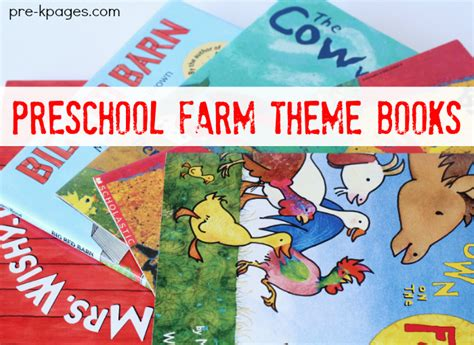 farm theme picture books for preschool 537 | preschool books about farm