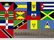 Caribbean Flags; 20 Caribbean Country flag set from $2000