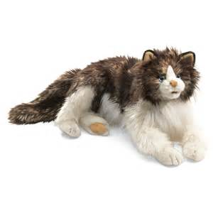 cat puppet ragdoll cat puppets by folkmanis puppets