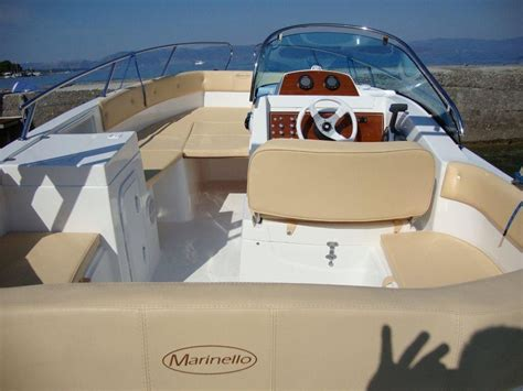 marinello 20 cabin marinello new 20 00 buy used powerboat sports boat