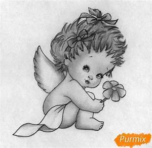 Zeichnen Lernen Mit Bleistift : auf folgende seite erkennen sie wie kann man einen engel zum valentinstag zeichnen die ~ Frokenaadalensverden.com Haus und Dekorationen