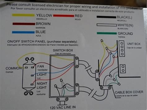 Ceiling Fan Light Switch Wiring Forums