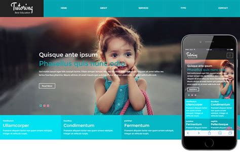 responsive mobile website templates designs