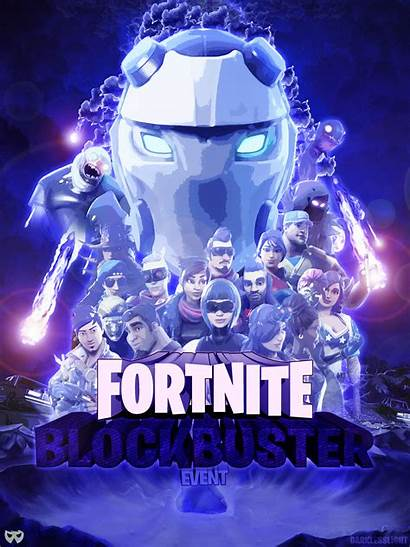 Fortnite Poster Event Blockbuster Creative