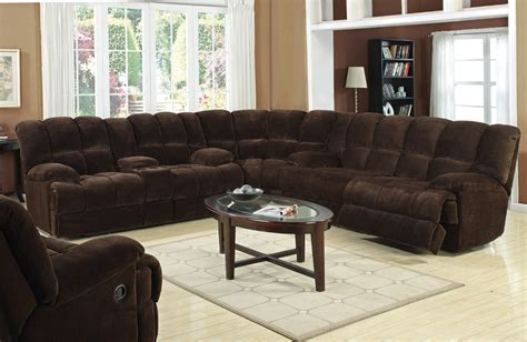 large sectional sofas with recliners monica recliner sectional sofa