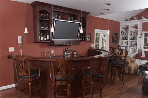 Home Bar Decor by Custom Home Bars