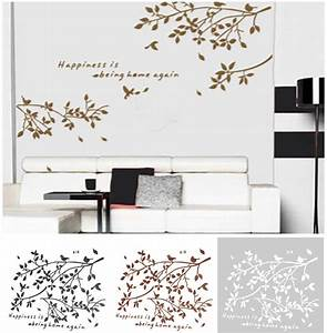black removable tree branches birds vinyl wall sticker With vinyl wall decal