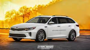 2016 kia optima wagon rendered but it 39 s not going to be built autoevolution