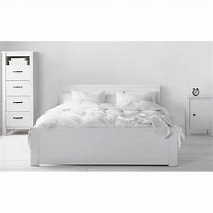 Ikea Brusali Nachttisch : ikea brusali white bed frame 150 200cm furniture beds ~ Watch28wear.com Haus und Dekorationen