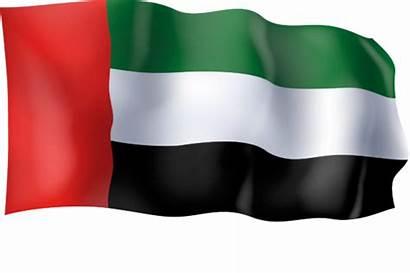 Flag Arab Emirates United Waving Graphic Creative