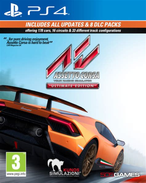 assetto corsa ultimate edition assetto corsa ultimate edition ps4 zavvi