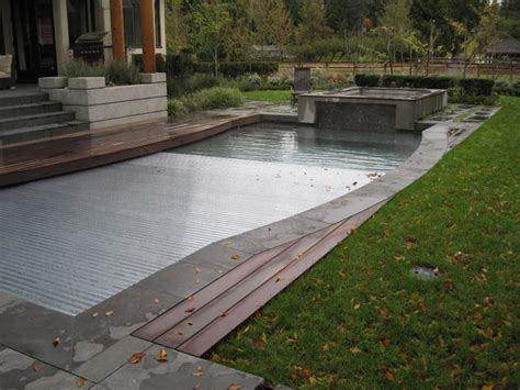 Hydralux (clear Slats), Automatic Swimming Pool Cover