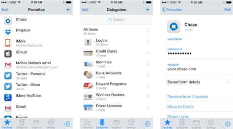 best password manager for iphone best password manager apps for iphone imore