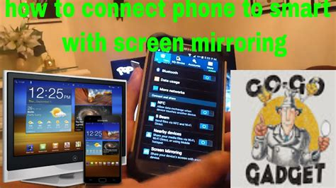 connect my phone to my tv how to connect phone to smart tv with screen