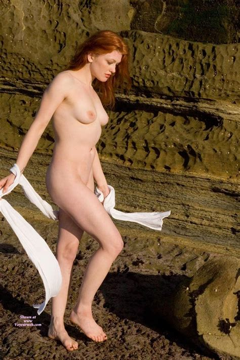 Nude Redhead Standing In Full Sun January Voyeur Web Hall Of Fame