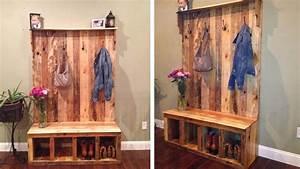 Dressing En Palette : achat meuble palette bricolage maison et d coration ~ Melissatoandfro.com Idées de Décoration