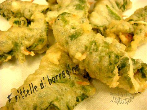 fiori di borragine ricette frittelle di borragine cucinare chiacchierando