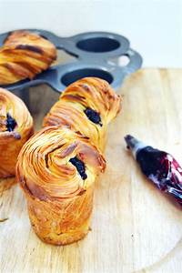 blueberry cruffins crossiant muffins with images