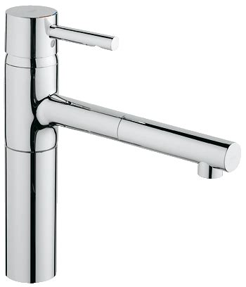 grohe essence kitchen faucet grohe essence single lever sink mixer 1 2 quot 32170 000