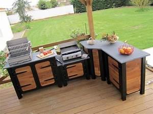 Cuisine D Ete : quand la cuisine prend ses quartiers d 39 t ~ Melissatoandfro.com Idées de Décoration