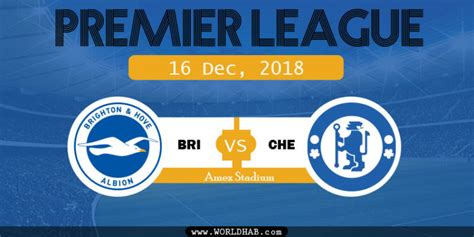 Brighton vs Chelsea Match Result: EPL December 2018 - WORLDHAB