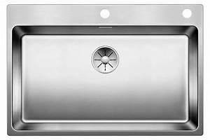 Evier Inox Grande Cuve : blanco andano 700 if a eviers direct evier ~ Premium-room.com Idées de Décoration