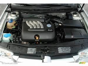 2000 Volkswagen Jetta Gl Sedan 2 0 Liter Sohc 8