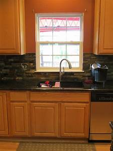finished kitchen sink picture and granite and tile With what kind of paint to use on kitchen cabinets for custom phone stickers