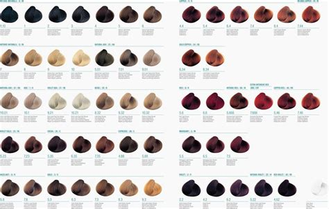 Hair Color Chart by Aveda Hair Color Chart Search Hair