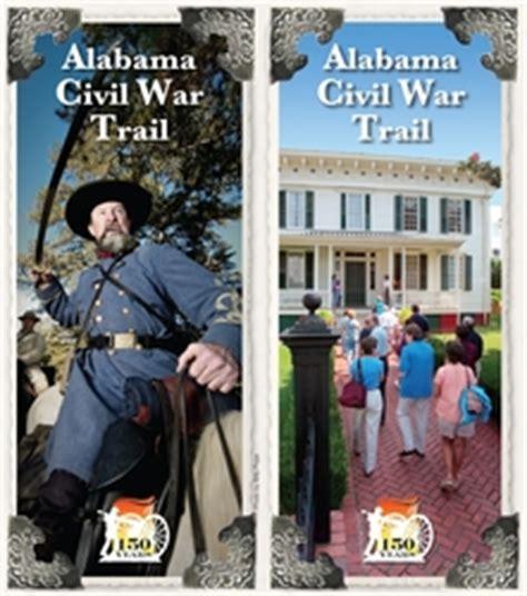 alabama tourism releases civil war trail brochure