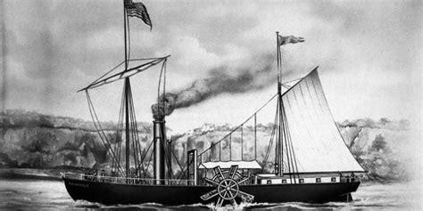 Barco A Vapor Historia by 191 Cu 225 L Fue El Primer Barco De Vapor 191 Qui 233 N Lo Invent 243 Y