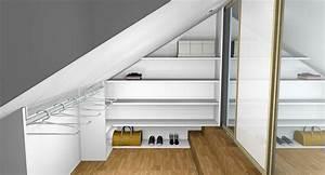 chambre sous toit sous les toits exemple chambre With salle de bain design avec peinture toiture