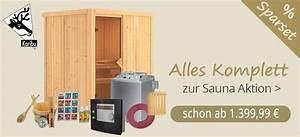 Sauna Komplett Angebote : sauna kaufen moderne heimsauna gartensauna ~ Articles-book.com Haus und Dekorationen