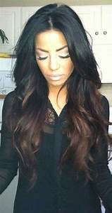 25 Dark Hair Color Ideas Long Hairstyles 2017 Long