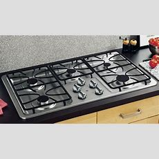 """Ge Appliances Jgp633setss 36"""" Gas Stainless Steel Cooktop"""