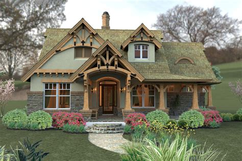 craftsman houseplans storybook cottage style to build