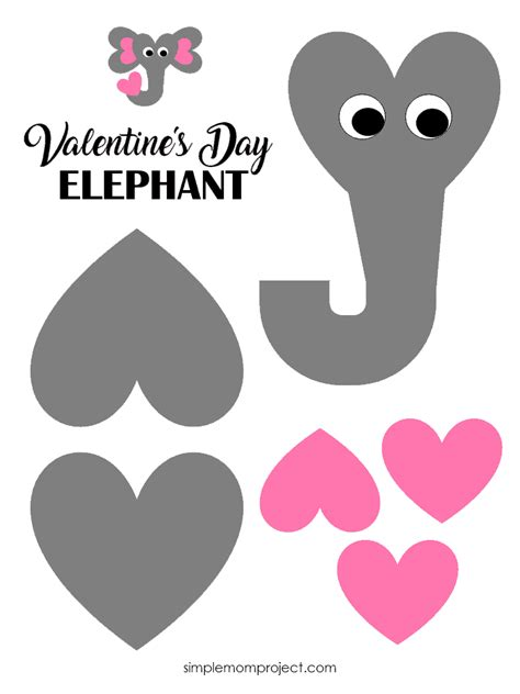 Valentine's Day Elephant