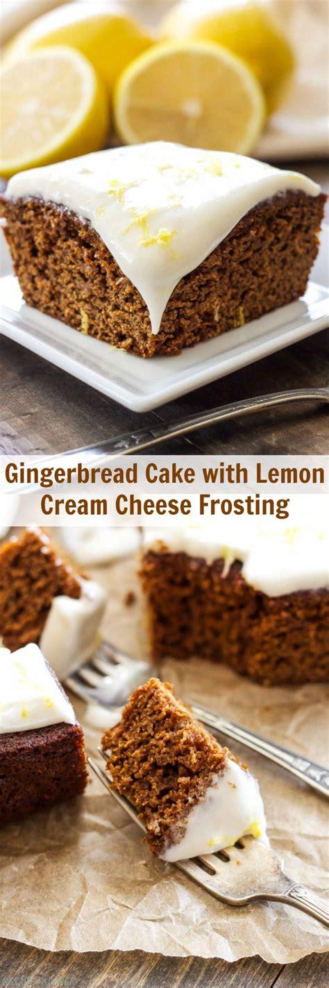 gingerbread cake ideas  pinterest recipe