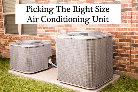 determine   size air conditioning unit