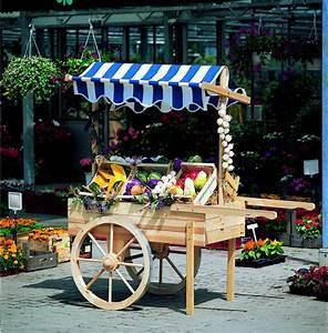 Kleiner Gartenzaun Holz : verkaufsstand promadino marktstand holz karren verkaufswagen promotionwagen marktstand ~ Bigdaddyawards.com Haus und Dekorationen
