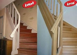Renovation D Escalier En Bois : r novation d 39 un escalier bouches du rh ne ~ Premium-room.com Idées de Décoration