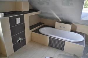 Beige Grau Kombinieren : badewanne einfliesen genie en sie die sch nen vorschl ge ~ Indierocktalk.com Haus und Dekorationen