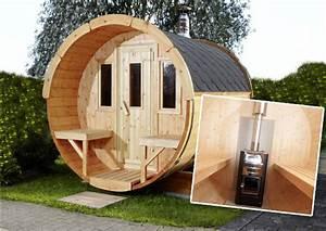 Sauna Mit Holzofen : wolff saunafass entspannung im eigenen garten pressemitteilung ws ~ Whattoseeinmadrid.com Haus und Dekorationen