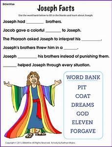 Joseph Facts (Fill in the Blank)