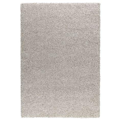 white rug ikea alhede rug high pile white 133x195 cm ikea