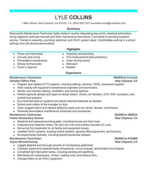 resume exles maintenance resume exles office resume exles resume 2017 manager resume