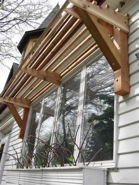 horizontal slat awning  wood house ideas   diy awning window awnings diy canopy