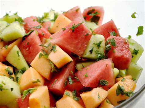 Three Melon Salad With Mint Recipe  Serious Eats